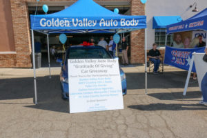 Golden Valley Auto Body Car Giveaway