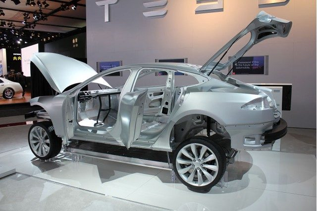 Tesla Body Shop
