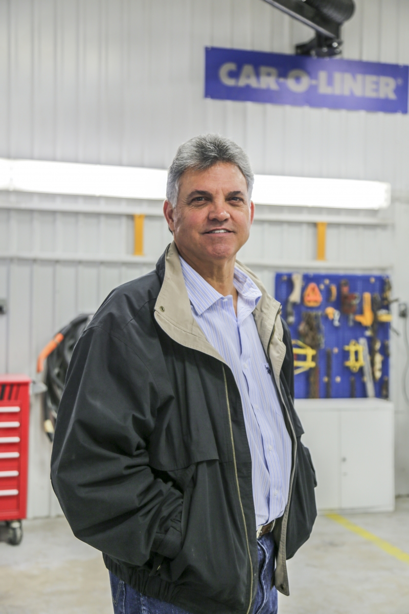 MAKING THE INVESTMENT: Matt Parker has worked to build his shop's aluminum credentials in the last year, and now, he says, the business wants to see a real return.