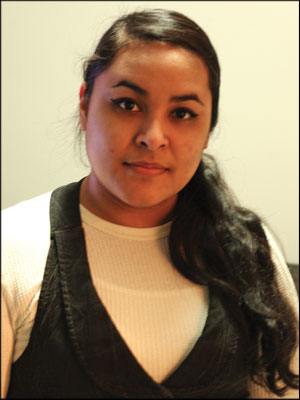 Winning Them Over—Soraya Gonzalez has won awards and  scholarships in  collision repair. Photo courtesy Soraya Gonzalez