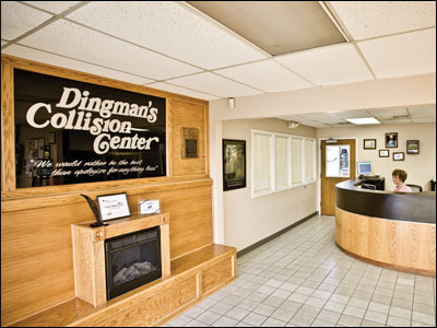 Photo courtesy Dingman's Collision Center