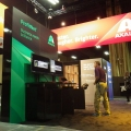 The Axalta Coating Systems booth.