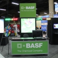 The BASF booth.