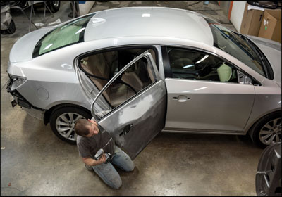 Focus on the Work: Mashburn's Collision Center's new shop processes allow each technician to have clear direction in his or her work on every job.