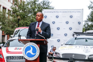 Automated Future: U.S. Department of Transportation Secretary Anthony Foxx announce