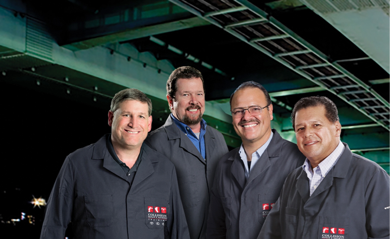 Left to right: Trainers Dan Hodges, James Meyer, Joe DiDonato, Agustin Diaz. For more on our trainers, go to: http://www.crrtraining.com/CRR2/trainers.