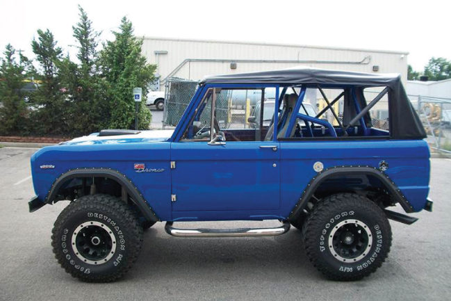 A Restored 1969 Ford Bronco