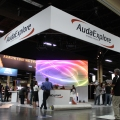 The AudaExplore booth.