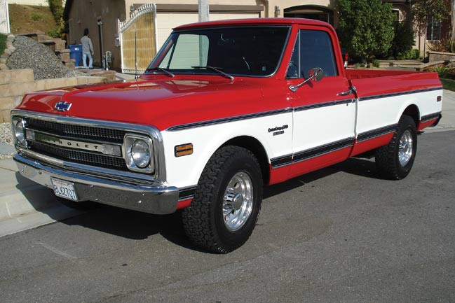 Bringing Back Glory To A 1969 Chevy Truck