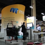 Mitchell International's booth.