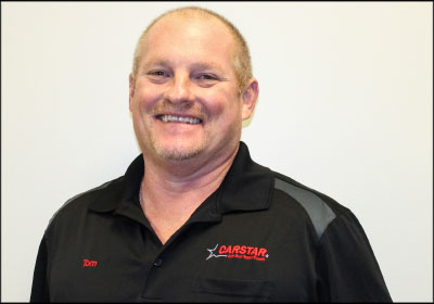 ADJUSTING TO CHALLENGES: After successfully growing his first CARSTAR shop, Tom Martin decided to try his luck opening a second location. Although a tough winter delayed plans, a unique solution forced his staff to bond and work collaboratively.