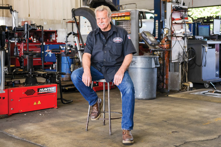 A PERSONAL TOUCH: John Gustafson worked diligently for more than a year to help transform his shop's culture. Before the change, he says the business was just a group of independent contractors. Today, it's an efficient, forward-thinking team, he says. Photo by Gamma Photography Studio