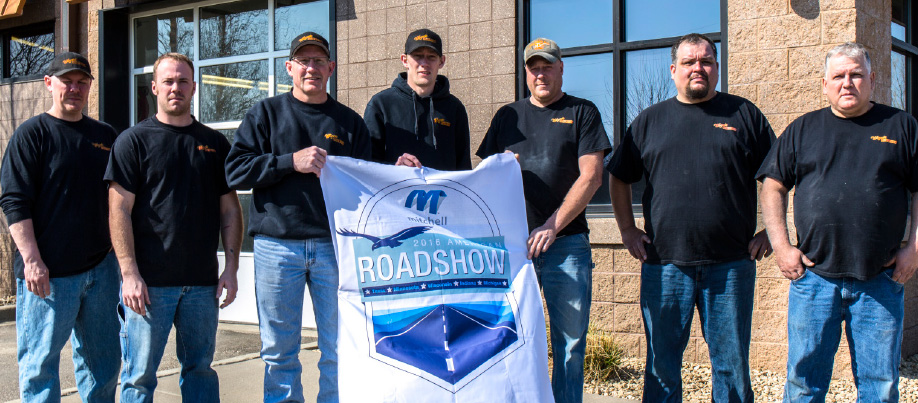 Crossing the border into Minnesota, the Mitchell Road Show made a pit stop at Wayne's Auto Body in Hastings to check in with owner Mark Beer.