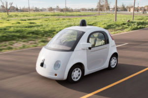 Google's autonomous vehicle