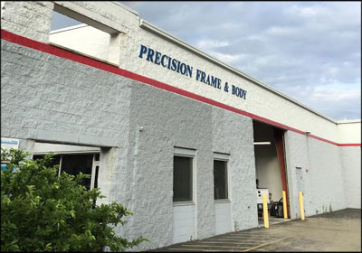 Precision Frame & Body in West Chester, Ohio. Photo courtesy Kevin Rains