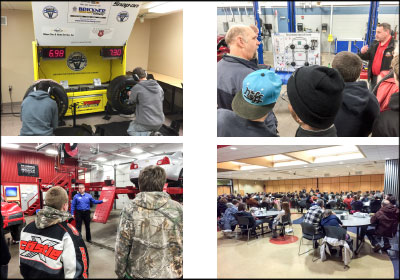 EXPLORING CAREERS: Northcentral Technical College's Automotive Career Night has grown to a hands-on event with demos, vendors and nearly 200 attendees.